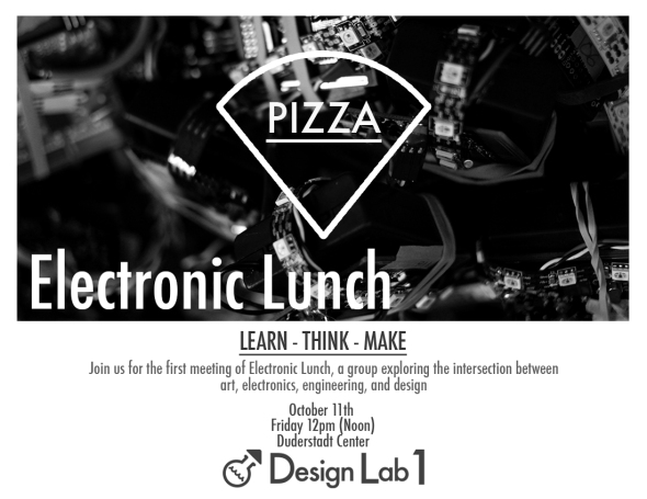 Electronic Lunch is BACK